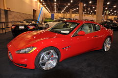 Maserati at Auto Show Royalty Free Stock Photos