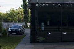 Maserati-Autoshop Lizenzfreies Stockfoto
