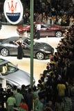 Maserati bei Vertriebs-, Gemein- und Verwaltungskosten autoshow 2012 Stockfotografie