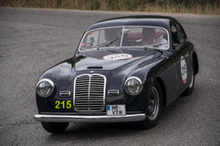 MASERATI A6 1500 berlinetta Pinin淀粉1950年 库存图片