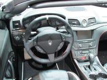 Maserati-binnenland 2015 Internationale toont Auto van New York Stock Foto's