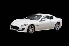 Maserati blanco GranTurismo imágenes de archivo libres de regalías