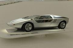 Maserati-Boemerang Haldesign Stock Afbeelding