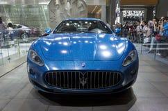 Maserati booth Stock Photo