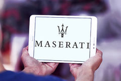 Maserati car logo Stock Images