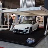 Maserati car at Made expo 2013 in Milan, Italy Stock Images