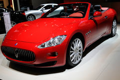 Maserati on CDMS 2013 Royalty Free Stock Photos