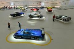 Maserati centenary expo. Ferrari museum in Modena presents a 100 years of Maserati celebration expo Stock Photography