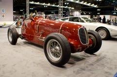 1936年Maserati 6CM在米兰Autoclassica 2016年 图库摄影
