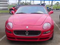 Maserati convertibile rosso GranSport a Lima Fotografia Stock Libera da Diritti