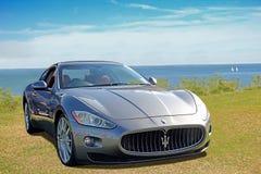 Maserati de lujo del supercar foto de archivo libre de regalías
