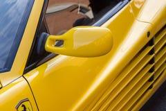 Maserati eccellente Maranello Italia di conclusione di Ferrari delle automobili sportive Immagini Stock Libere da Diritti