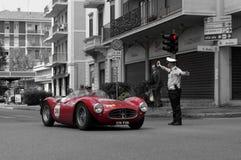 Maserati em Mille Miglia 2015 Imagem de Stock