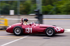 Maserati 250F. Historic racing car photographed during Brno Grand Prix Revival event on 5 July 2014 in Automotodrom Brno, Czech Republic Stock Photography