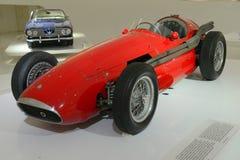 Maserati 250 F - légende F1 de emballage Images libres de droits