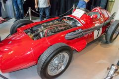 Maserati 250 f 2. Maserati 250 f racing car Stock Images