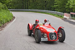 Maserati A6 GCS (1948) runs in Mille Miglia 2013 Stock Photos