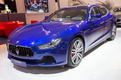 2014 Maserati Ghibli Royalty-vrije Stock Afbeeldingen
