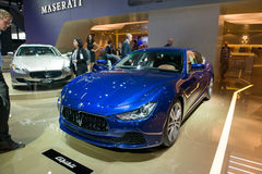 Maserati Ghibli - European premiere Royalty Free Stock Images