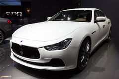 Maserati Ghibli Stock Photography