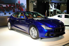 Maserati Ghibli Sports car Royalty Free Stock Photos