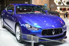 Maserati Ghibli Sportscar Royalty Free Stock Photography