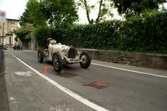 Maserati GP 26B przy Bergamo Historyczny Uroczysty Prix 2015 Obrazy Royalty Free
