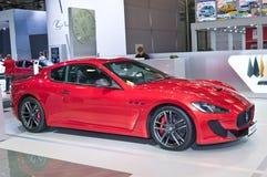 Maserati Gran Turismo konferencié Stradale Fotografering för Bildbyråer