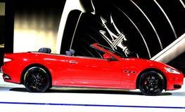 Maserati GranCabrio Royalty-vrije Stock Afbeeldingen