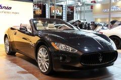 Maserati GranCabrio car royalty free stock image