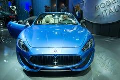 Maserati GranCabrio Royalty Free Stock Photos