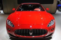 Maserati grancabrio front Stock Photography