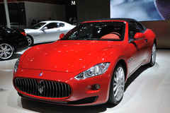 Maserati grancabrio front Royalty Free Stock Photography