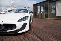 Maserati GranCabrio right side Royalty Free Stock Photos
