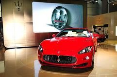 Maserati GranCabrio Sports car Stock Photography