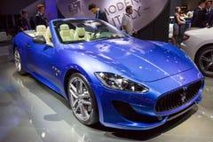 Maserati GranTurismo αθλητικό αυτοκίνητο Coupe εκδόσεων MC εκατονταετές Στοκ Φωτογραφία