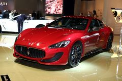 The Maserati GranTurismo Stock Image