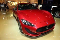The Maserati GranTurismo Royalty Free Stock Image