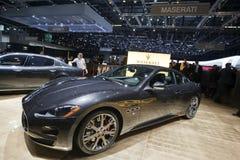 Maserati Granturismo 5 Automatik - 2009 Genève Stock Afbeelding