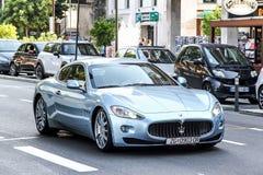 Maserati GranTurismo Royaltyfria Foton