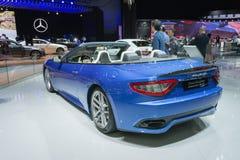 Maserati GranTurismo Convertible Sport Royalty Free Stock Images