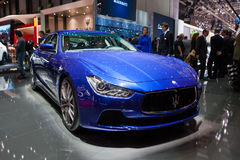 Maserati GranTurismo in Geneva Stock Photography