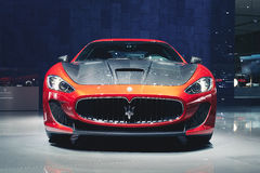 Maserati GranTurismo konferencié 2016 Stradale royaltyfri fotografi