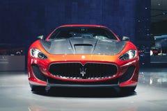 Maserati 2016 GranTurismo Lux Stradale Lizenzfreie Stockfotografie