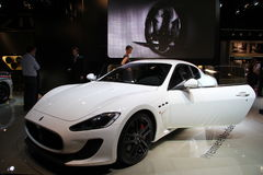 MASERATI GranTurismo MC Stradale Stock Photo