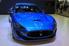 Maserati Granturismo MC Stradale car on display Royalty Free Stock Photography