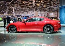 Maserati GranTurismo MC Stradale, Motor Show Geneve 2015. Royalty Free Stock Images