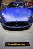 Maserati GranTurismo S in de Show van de Motor van Parijs 2010 royalty-vrije stock fotografie