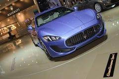 Maserati GranTurismo Sport-Geneva Motor Show 2012 Royalty Free Stock Image