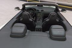 Maserati GranTurismo su esposizione fotografia stock